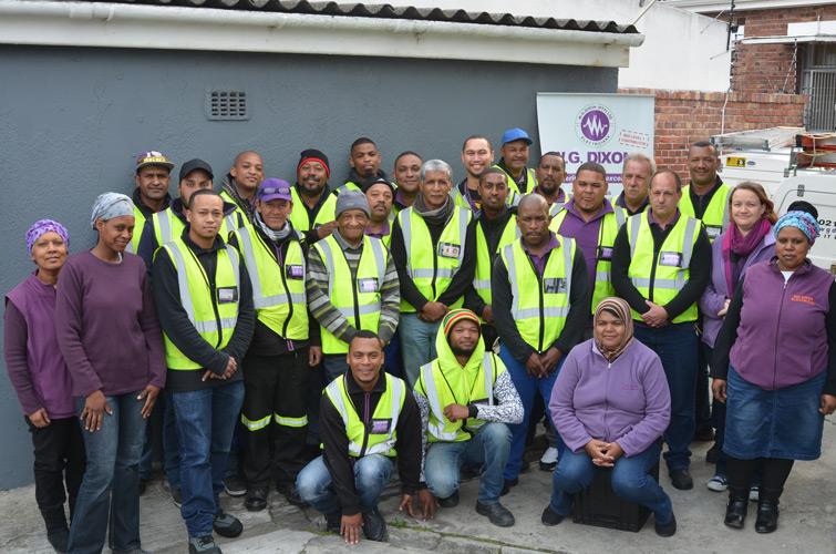 W.G Dixon Electrical Team